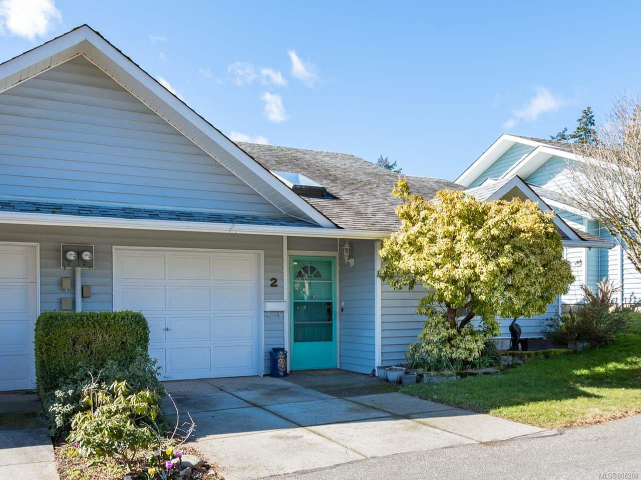 Main Photo: 2 2200 Manor Dr in COMOX: CV Comox (Town of) Row/Townhouse for sale (Comox Valley)  : MLS®# 808208