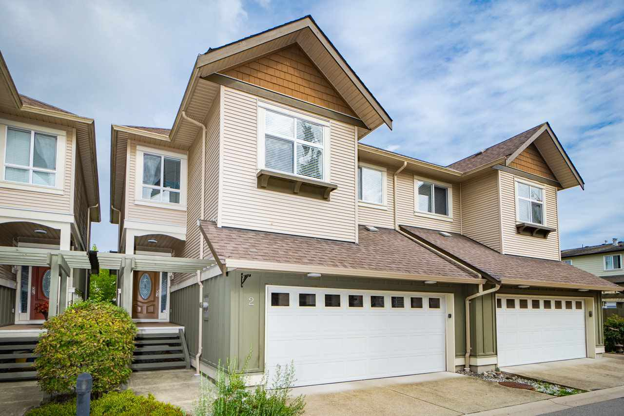 Main Photo: 2 12311 NO. 2 Road in Richmond: Steveston South Townhouse for sale : MLS®# R2408606