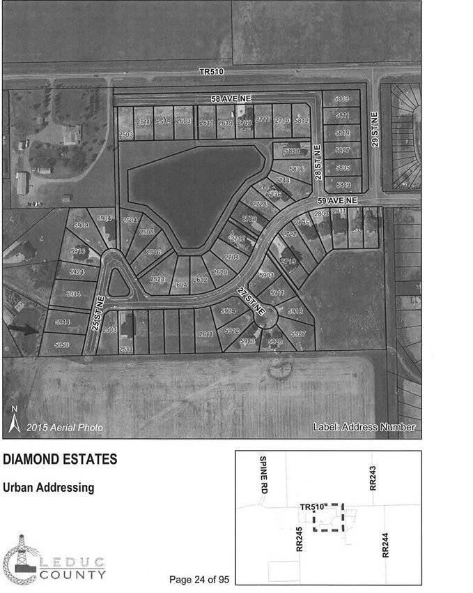 Main Photo: 5950 25 Street: Rural Leduc County Rural Land/Vacant Lot for sale : MLS®# E4184812