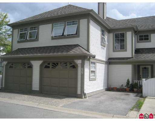 Main Photo: 55 16318 82ND AVENUE in : Fleetwood Tynehead Townhouse for sale : MLS®# F2717404