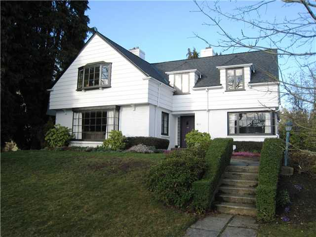 Main Photo: 411 SECOND Street in New Westminster: Queens Park House for sale : MLS®# V1051972