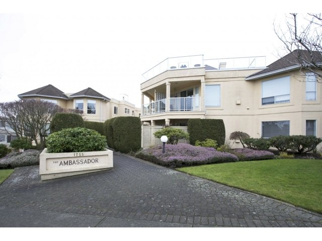 """Main Photo: 201 1255 BEST Street: White Rock Condo for sale in """"The Ambassador"""" (South Surrey White Rock)  : MLS®# R2025902"""