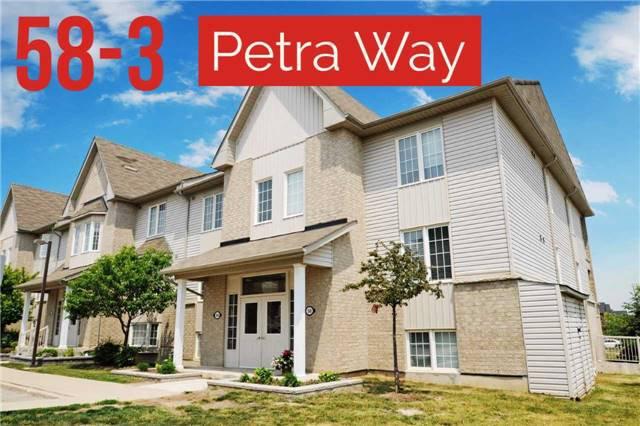 Main Photo: 3 58 Petra Way in Whitby: Pringle Creek Condo for sale : MLS®# E3514170