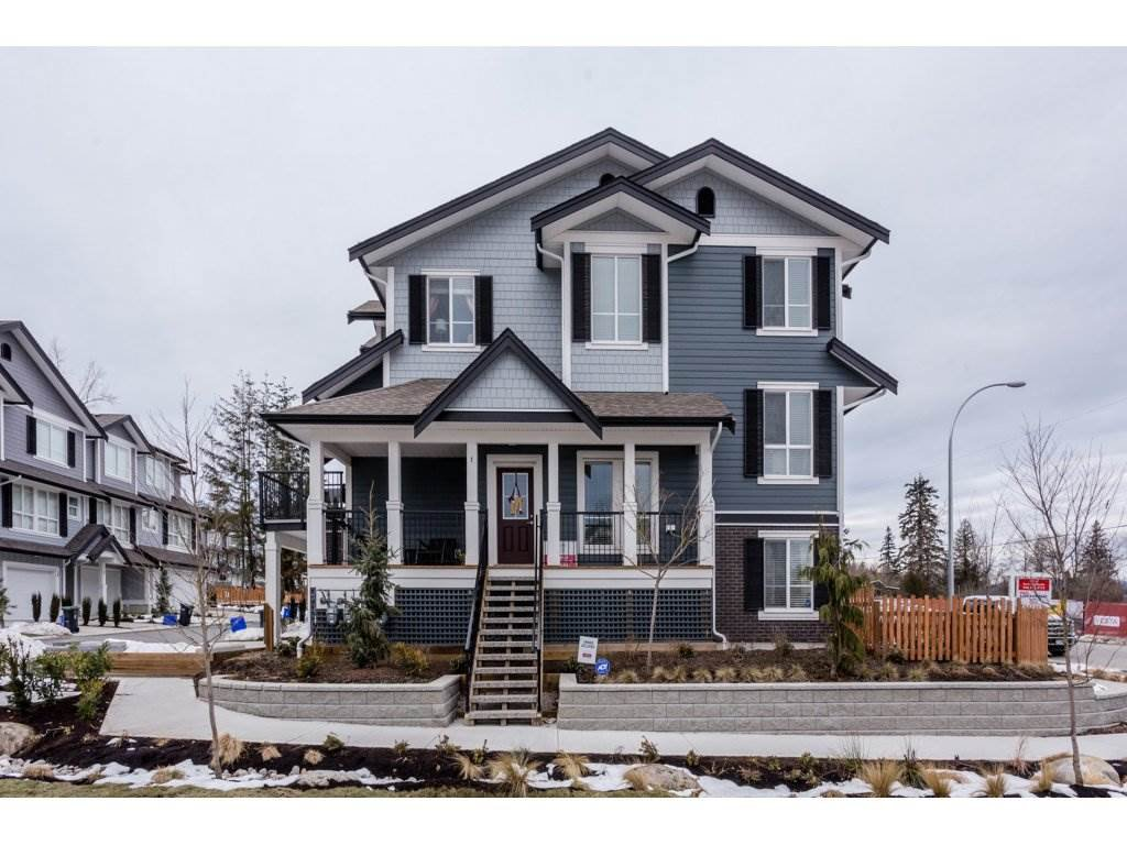 """Main Photo: 1 7157 210 Street in Langley: Willoughby Heights Townhouse for sale in """"Alder"""" : MLS®# R2139231"""