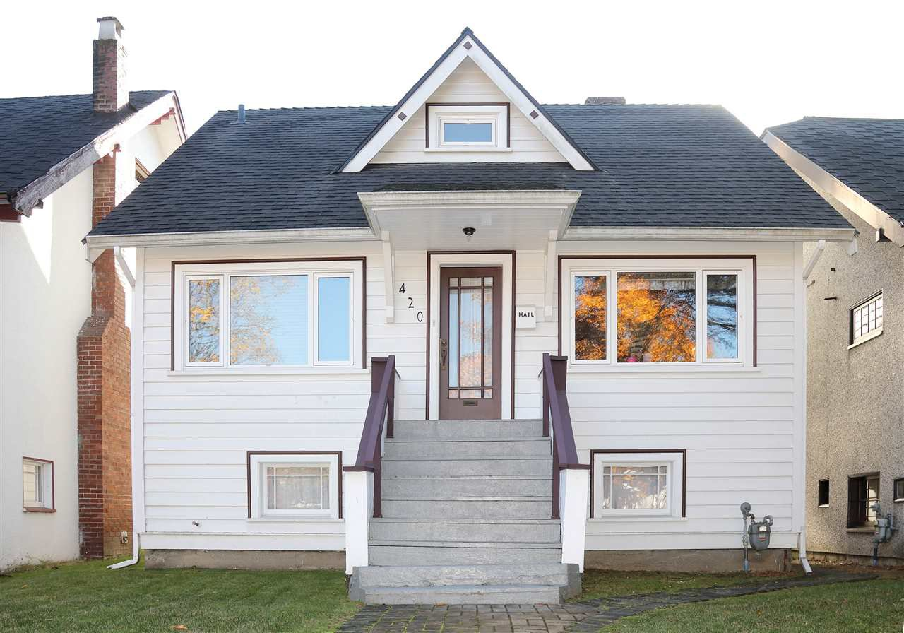 Main Photo: 420 W 20TH Avenue in Vancouver: Cambie House for sale (Vancouver West)  : MLS®# R2266141
