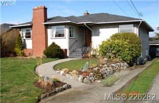 Main Photo:  in VICTORIA: OB Henderson Single Family Detached for sale (Oak Bay)  : MLS®# 423611