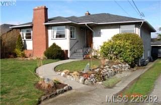 Main Photo:  in VICTORIA: OB Henderson House for sale (Oak Bay)  : MLS®# 423611