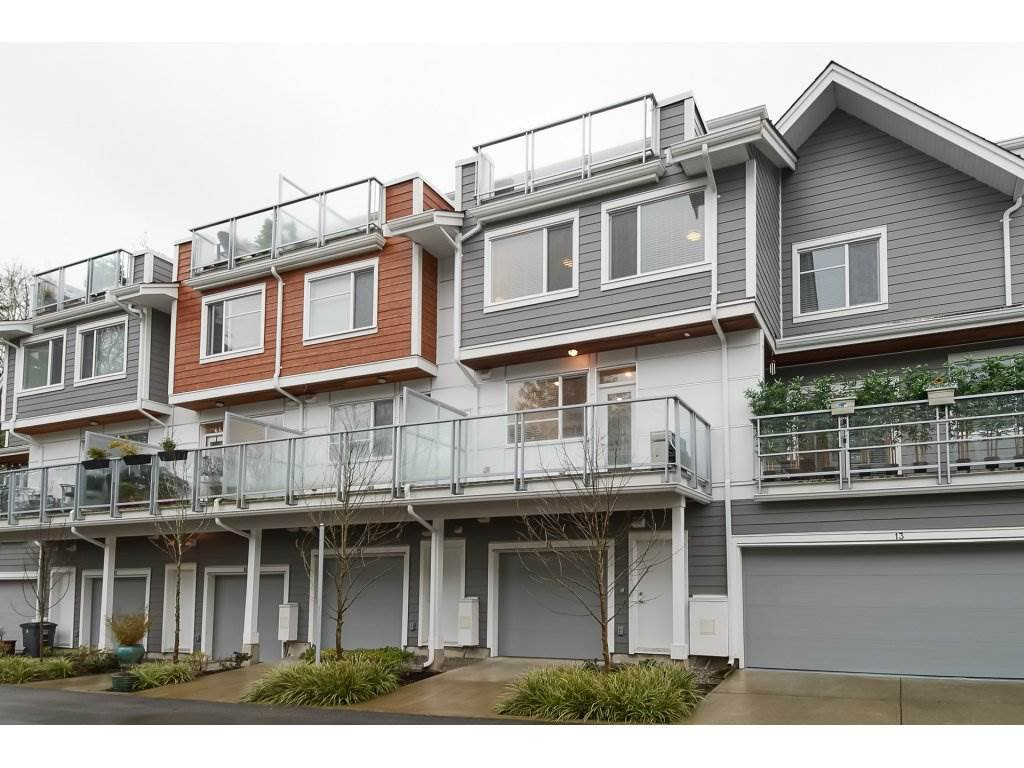 """Main Photo: 14 2958 159 Street in Surrey: Grandview Surrey Townhouse for sale in """"Willsbrook at South Ridge Club"""" (South Surrey White Rock)  : MLS®# R2329506"""