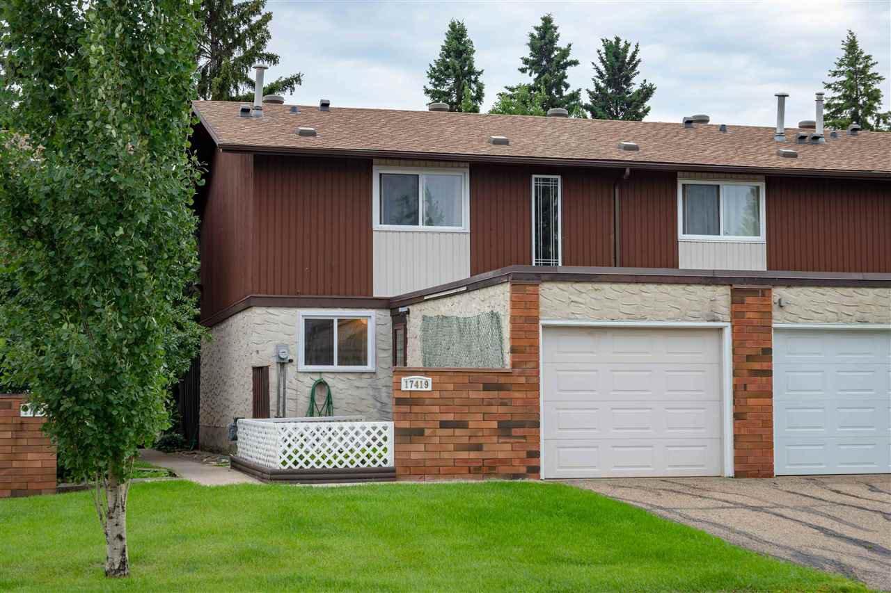 Main Photo: 17419 77 Avenue in Edmonton: Zone 20 Townhouse for sale : MLS®# E4164059