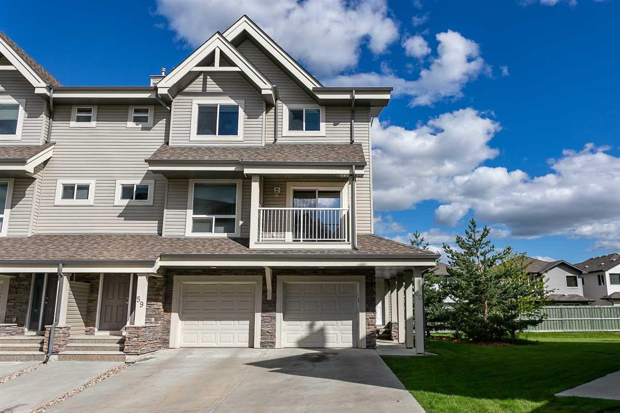 Main Photo: 59 12050 17 Avenue in Edmonton: Zone 55 Townhouse for sale : MLS®# E4171882