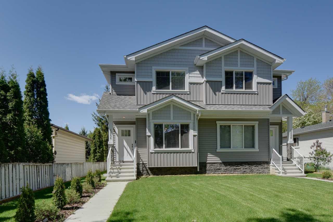 Main Photo: 12236 89 Street in Edmonton: Zone 05 House Half Duplex for sale : MLS®# E4200491