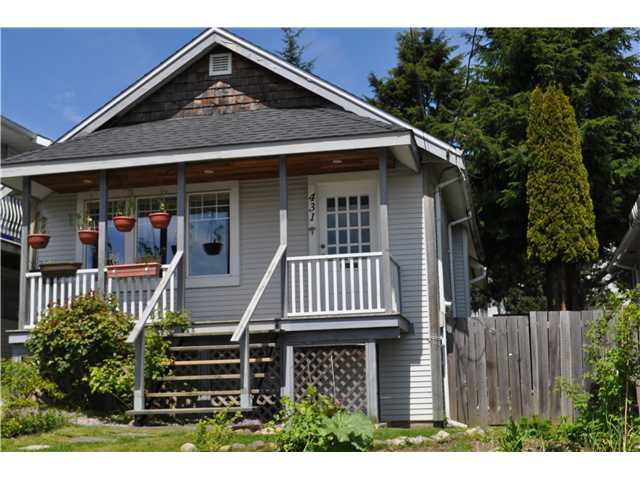 Main Photo: 431 SCHOOL Street in New Westminster: The Heights NW House for sale : MLS®# V889849