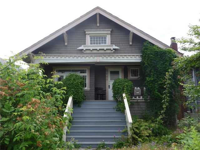 Main Photo: 3040 W 5TH Avenue in Vancouver: Kitsilano House for sale (Vancouver West)  : MLS®# V905072