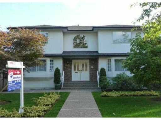 Main Photo: 3548 W 42ND Avenue in Vancouver: Southlands House for sale (Vancouver West)  : MLS®# V939887