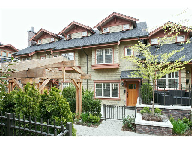 Main Photo: 5908 OAK Street in Vancouver: Oakridge VW Townhouse for sale (Vancouver West)  : MLS®# V1096610