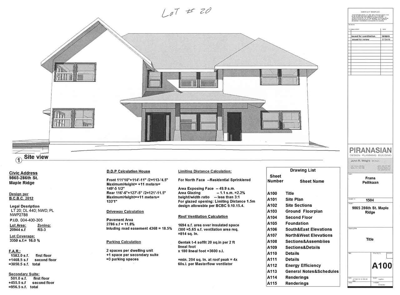 Main Photo: 9865 286 Street in Maple Ridge: Whonnock Land for sale : MLS®# R2064964
