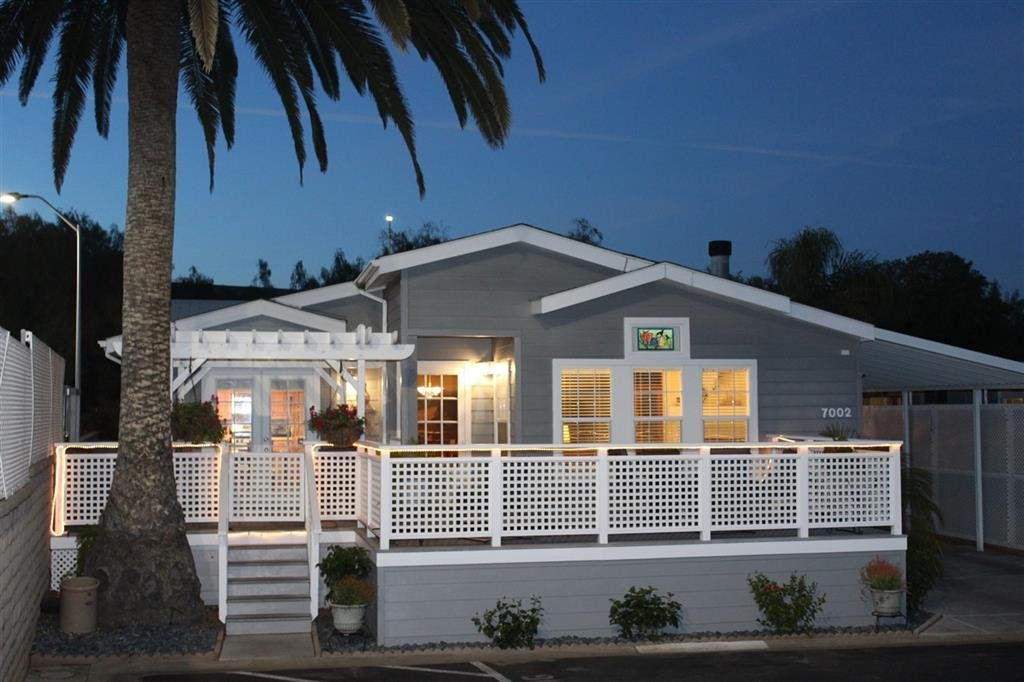 Main Photo: CARLSBAD WEST Manufactured Home for sale : 3 bedrooms : 7002 San Bartolo in Carlsbad