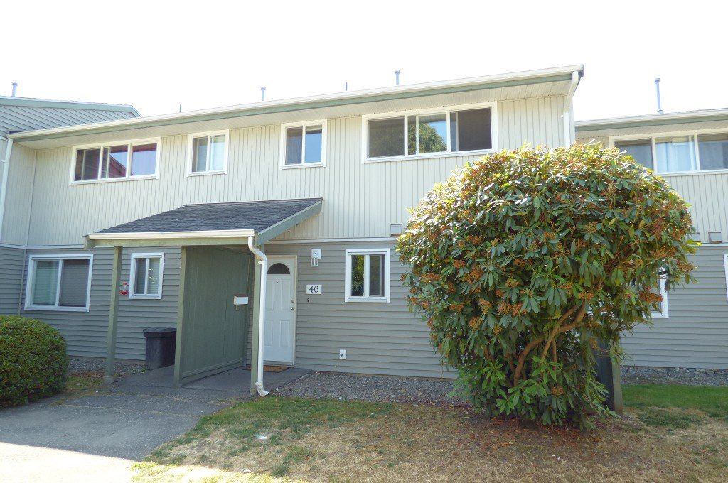 Main Photo: 46 45185 WOLFE ROAD in Chilliwack: Chilliwack W Young-Well Townhouse for sale : MLS®# R2196507