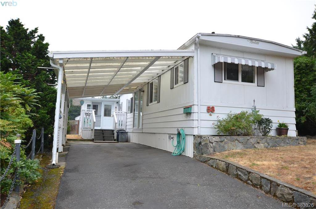 Main Photo: 58 2587 Selwyn Rd in VICTORIA: La Mill Hill Manufactured Home for sale (Langford)  : MLS®# 769773