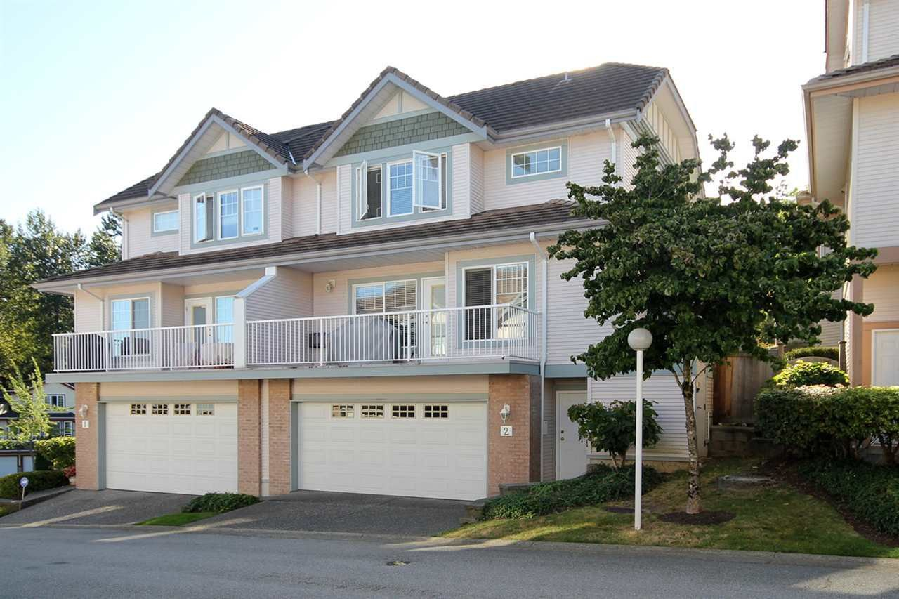 Main Photo: 2 1751 PADDOCK Drive in Coquitlam: Westwood Plateau Townhouse for sale : MLS®# R2212102