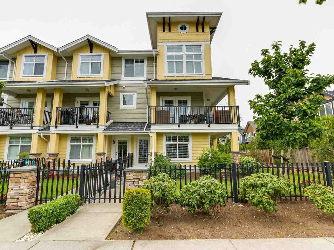 "Main Photo: 31 17171 2B Avenue in Surrey: Pacific Douglas Townhouse for sale in ""AUGUSTA TOWNHOUSES"" (South Surrey White Rock)  : MLS®# R2280398"