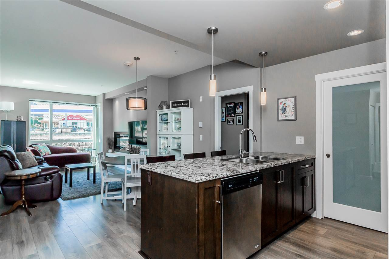 """Photo 3: Photos: 206 2242 WHATCOM Road in Abbotsford: Abbotsford East Condo for sale in """"Waterleaf"""" : MLS®# R2288895"""