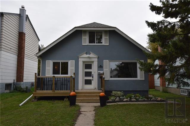 Main Photo: 326 Dumoulin Street in Winnipeg: St Boniface Residential for sale (2A)  : MLS®# 1826951