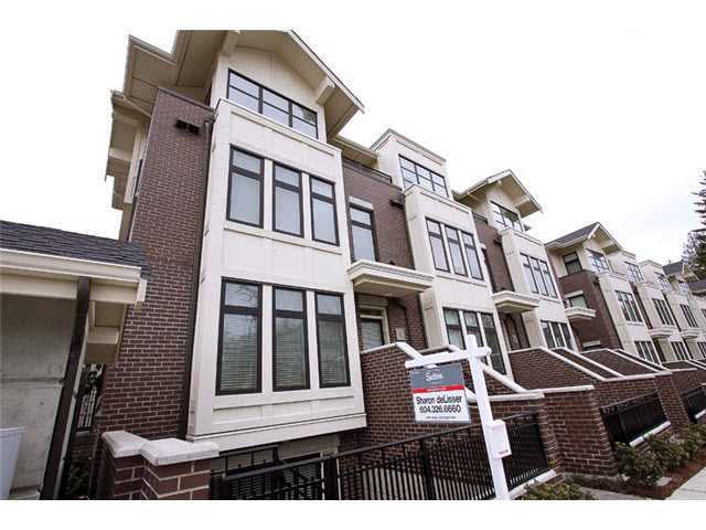 Main Photo: 1 5879 GRAY AVENUE in : University VW Townhouse for sale (Vancouver West)  : MLS®# V883012