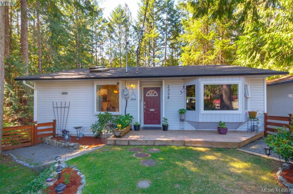 Main Photo: 2374 Larsen Rd in SHAWNIGAN LAKE: ML Shawnigan Single Family Detached for sale (Malahat & Area)  : MLS®# 823125