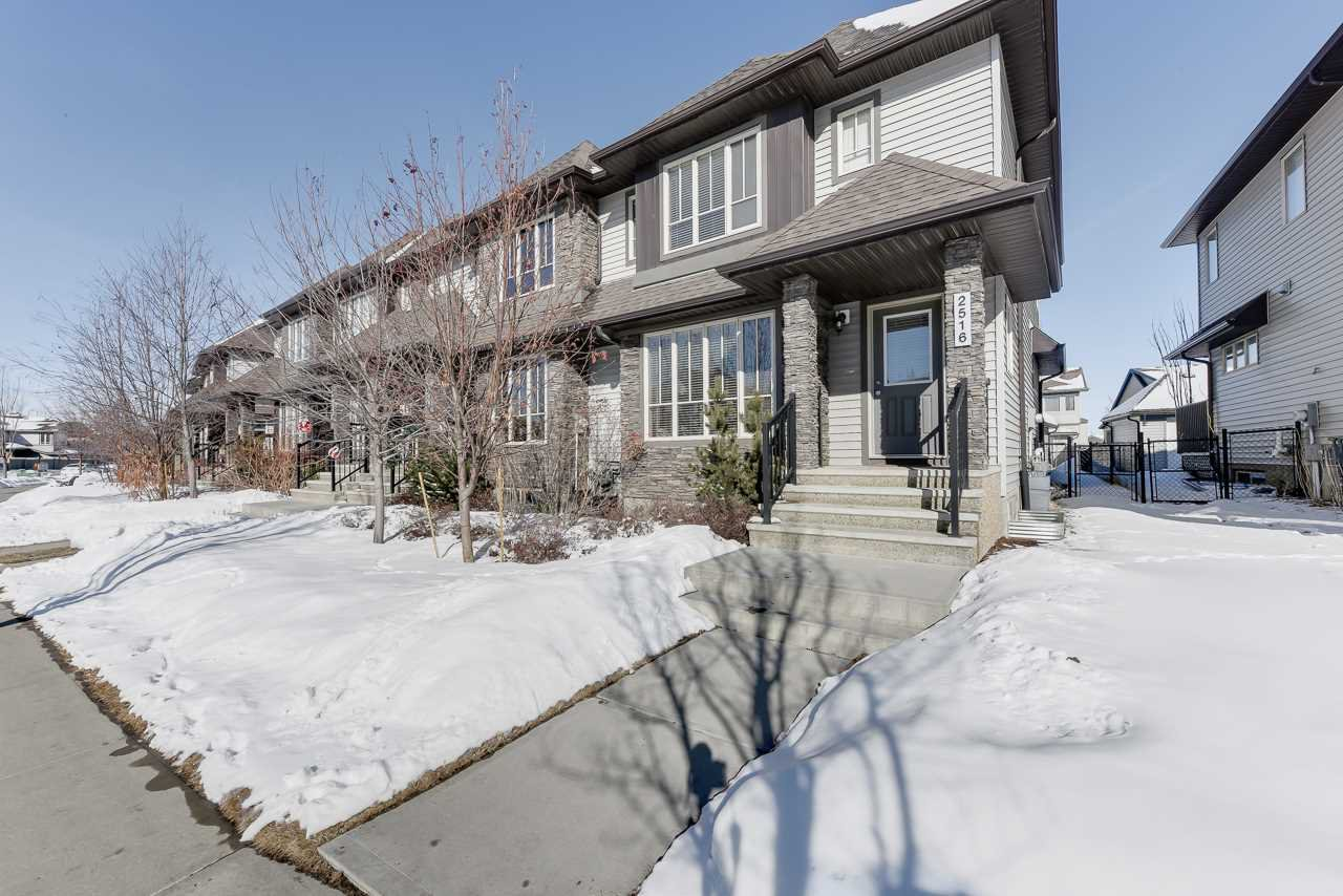 Main Photo: 2516 ANDERSON Way in Edmonton: Zone 56 Attached Home for sale : MLS®# E4191026