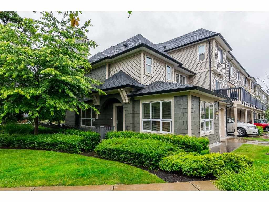 "Main Photo: 22 7938 209 Street in Langley: Willoughby Heights Townhouse for sale in ""RED MAPLE PARK"" : MLS®# R2466681"