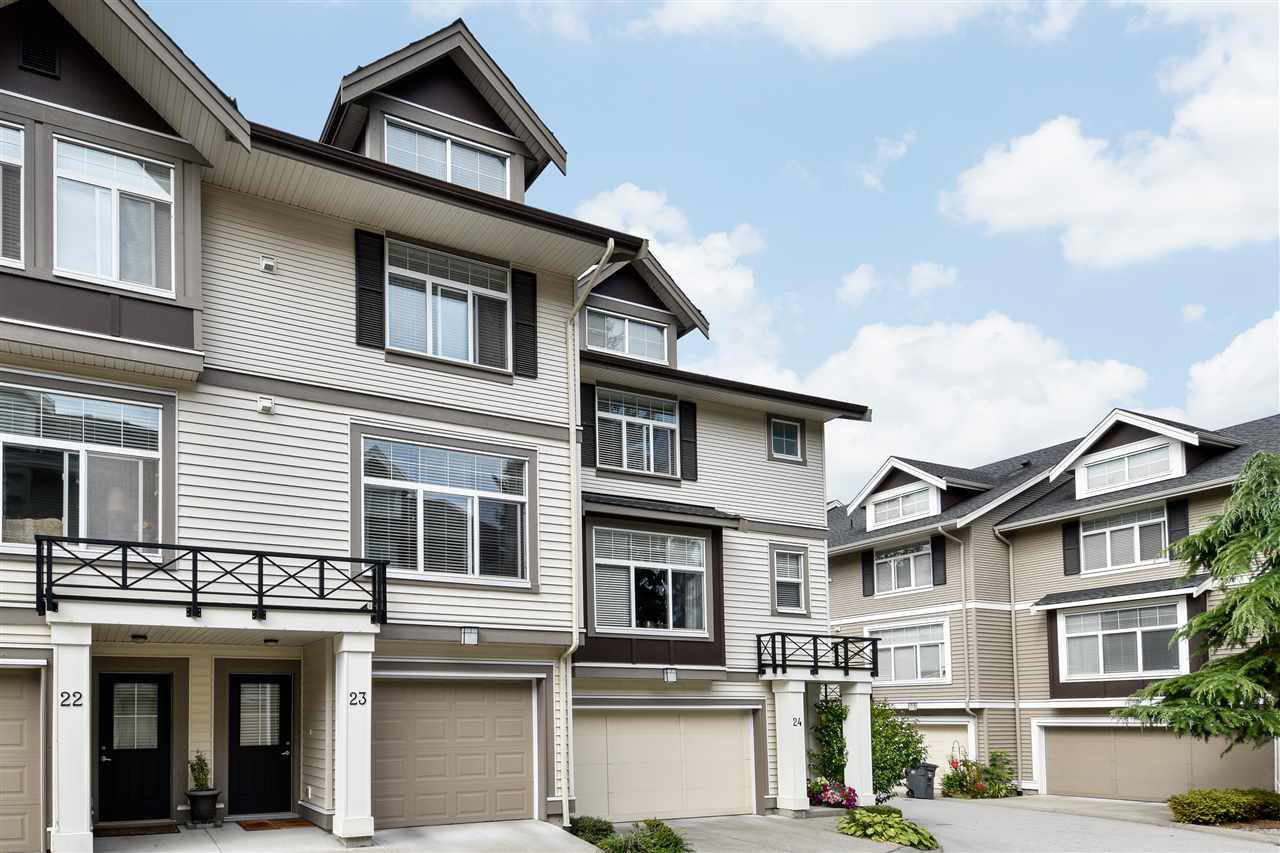 """Photo 3: Photos: 23 14377 60 Avenue in Surrey: Sullivan Station Townhouse for sale in """"Blume"""" : MLS®# R2493767"""
