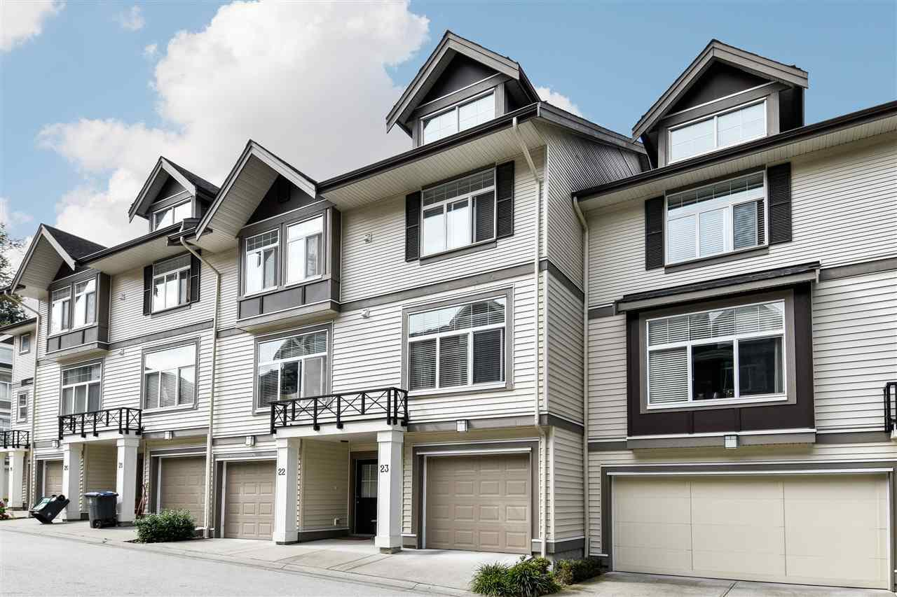 """Photo 2: Photos: 23 14377 60 Avenue in Surrey: Sullivan Station Townhouse for sale in """"Blume"""" : MLS®# R2493767"""