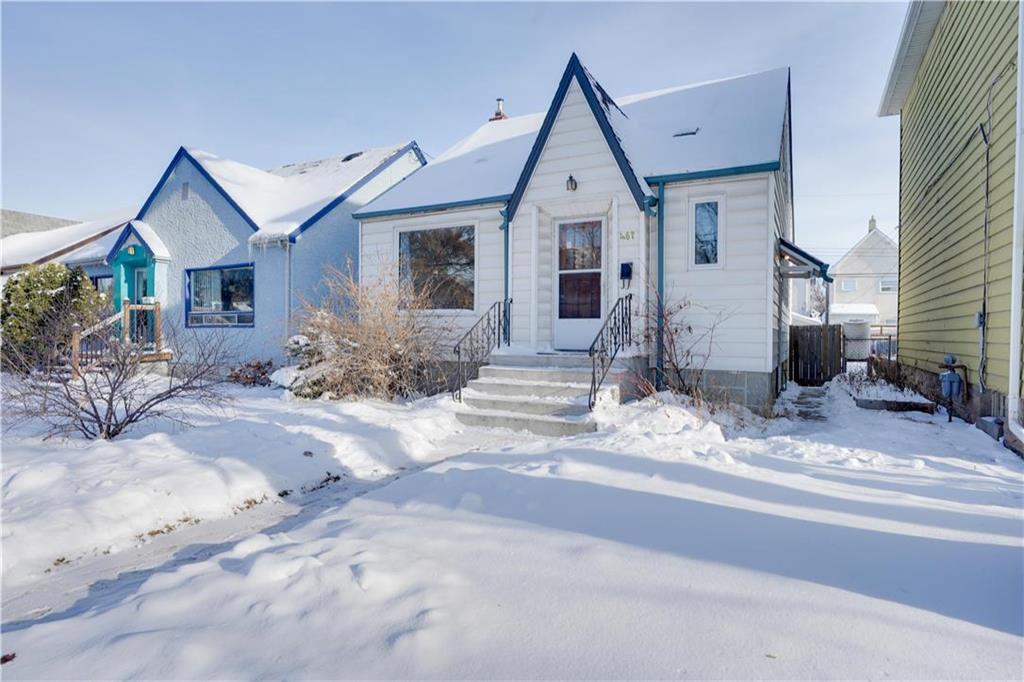 Main Photo: 467 Arlington Street in Winnipeg: Residential for sale (5A)  : MLS®# 202100089