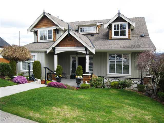 Main Photo: 845 BURNABY Street in New Westminster: The Heights NW House for sale : MLS®# V1056243