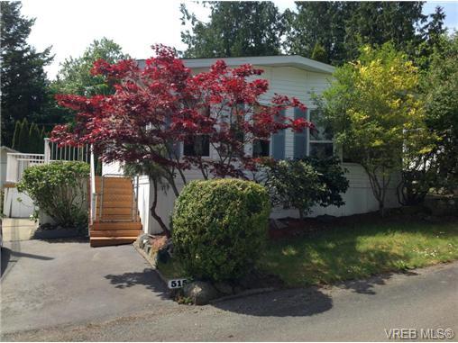 Main Photo: 515 2850 Stautw Rd in SAANICHTON: CS Hawthorne Manufactured Home for sale (Central Saanich)  : MLS®# 702862