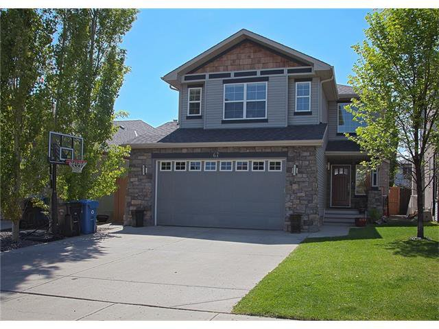 Main Photo: 67 CHAPMAN Way SE in Calgary: Chaparral House for sale : MLS®# C4065212