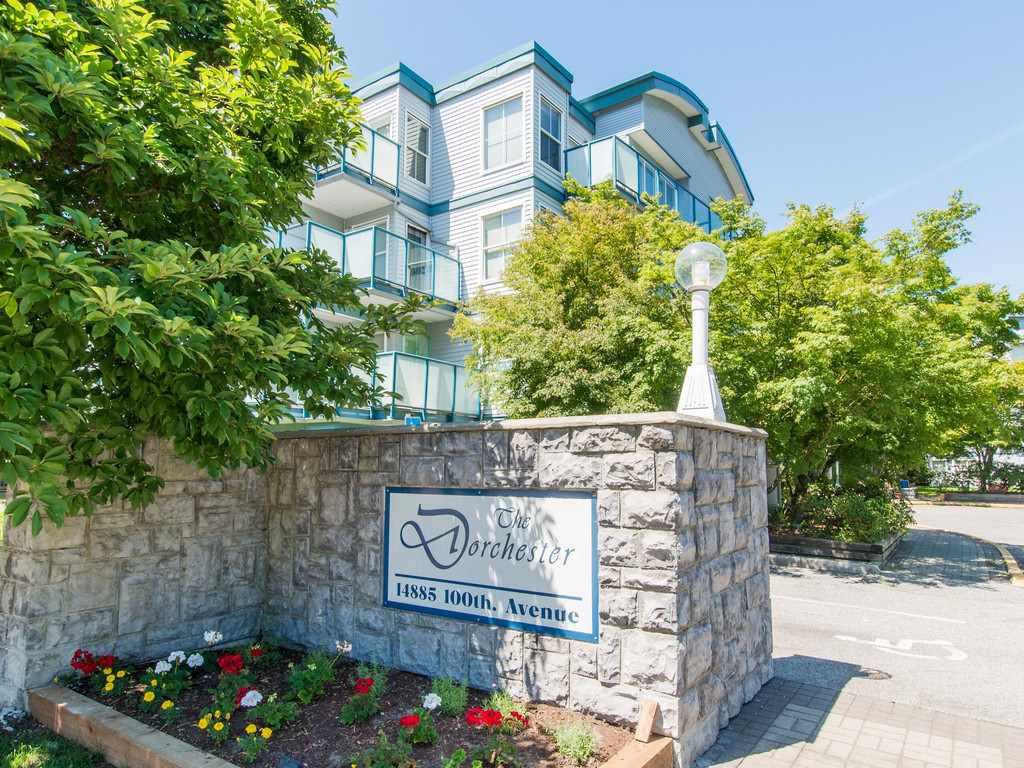 """Main Photo: 106 14885 100 Avenue in Surrey: Guildford Condo for sale in """"THE DORCHESTER"""" (North Surrey)  : MLS®# R2088062"""