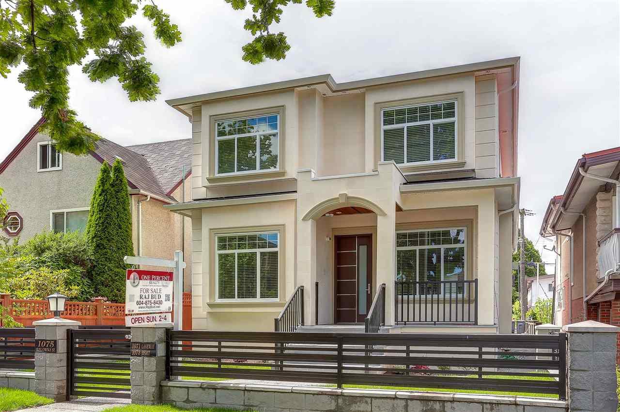 Main Photo: 1075 KELOWNA Street in Vancouver: Renfrew VE House for sale (Vancouver East)  : MLS®# R2096873