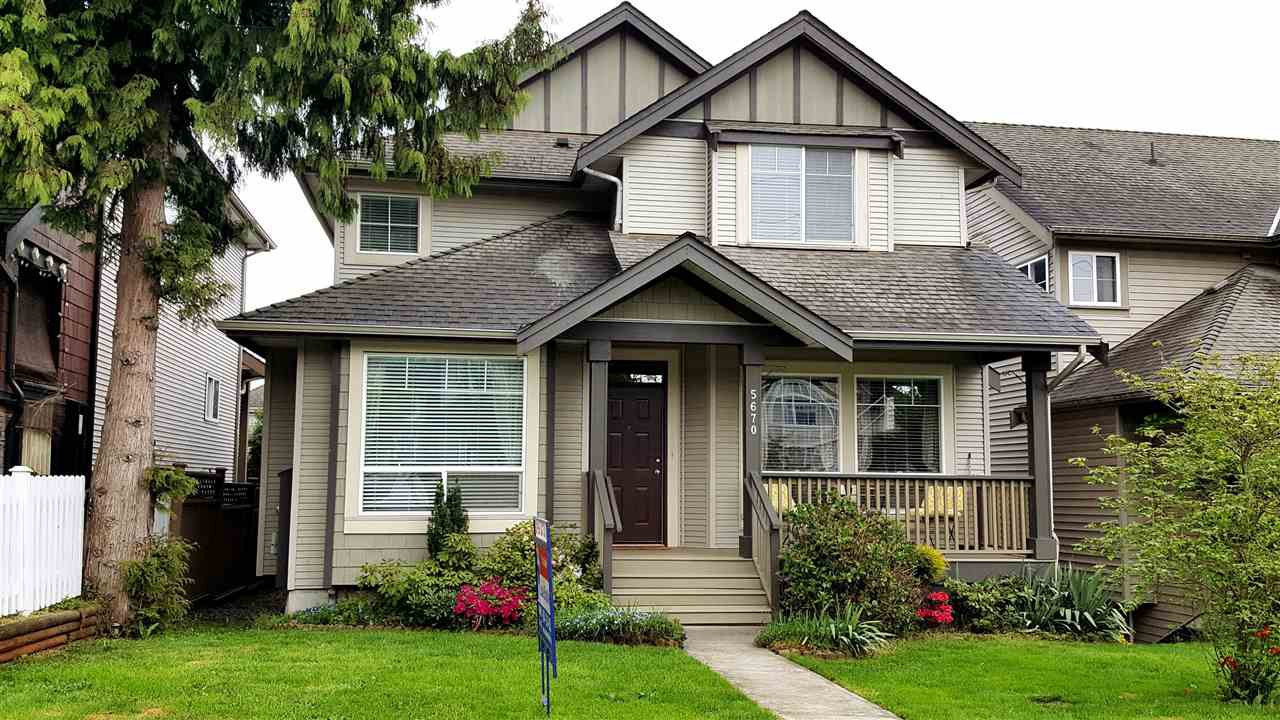 "Main Photo: 5670 148 Street in Surrey: Sullivan Station House for sale in ""PANORAMA VILLAGE"" : MLS®# R2162981"