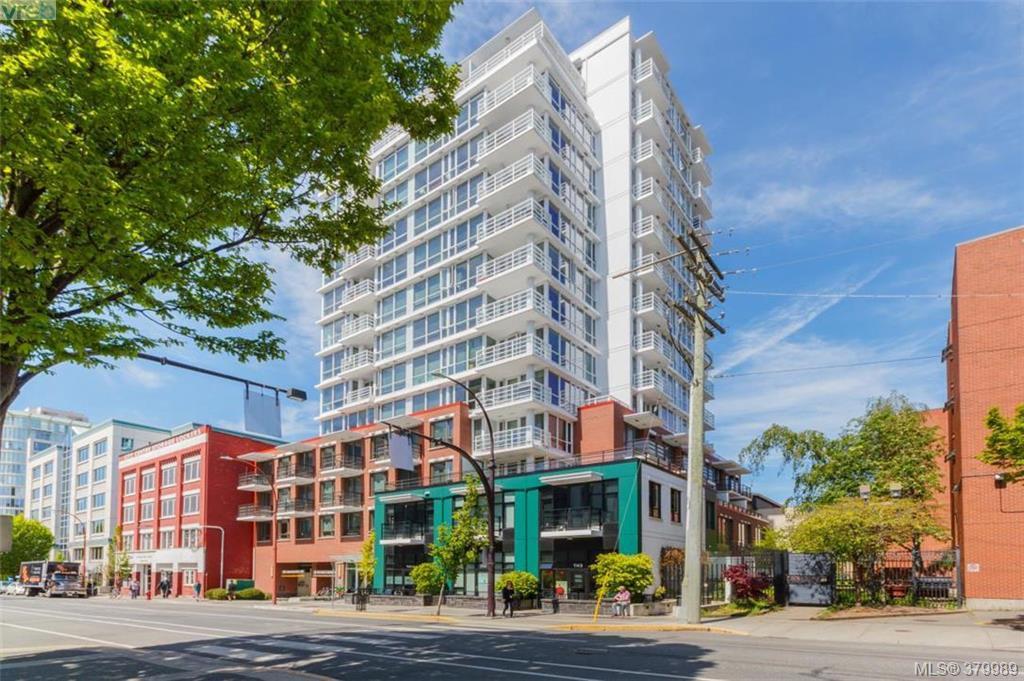 Main Photo: 706 834 Johnson St in VICTORIA: Vi Downtown Condo for sale (Victoria)  : MLS®# 763292