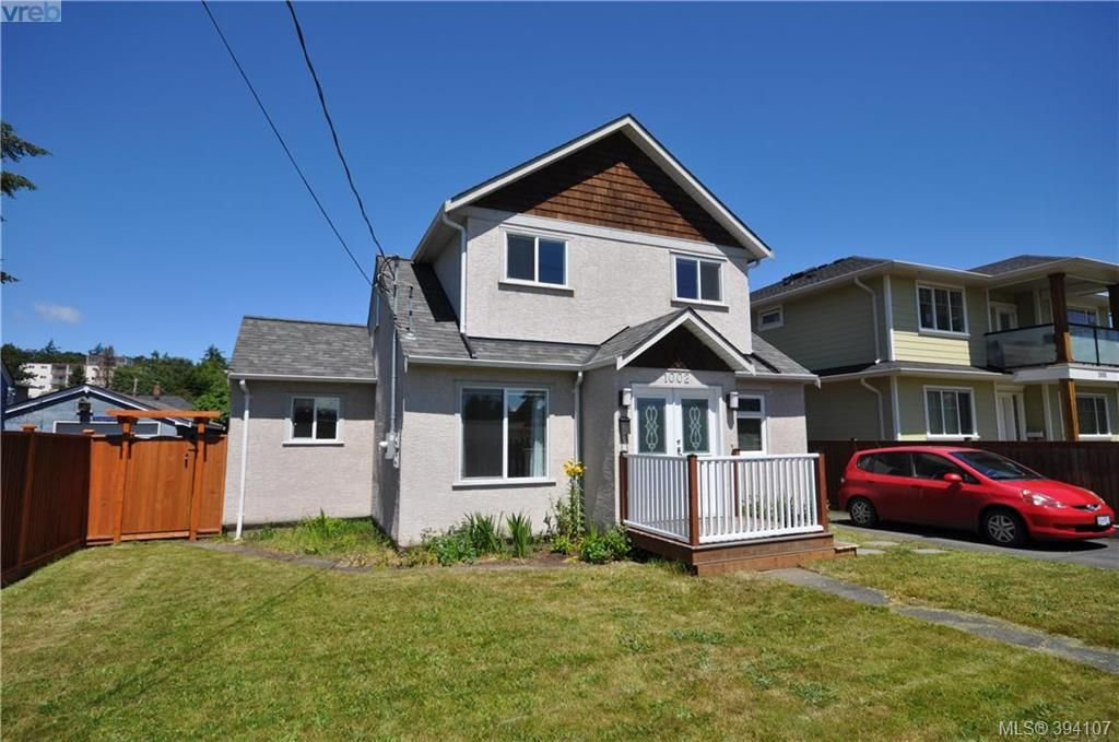 Main Photo: 1002 Lyall St in VICTORIA: Es Old Esquimalt House for sale (Esquimalt)  : MLS®# 790096
