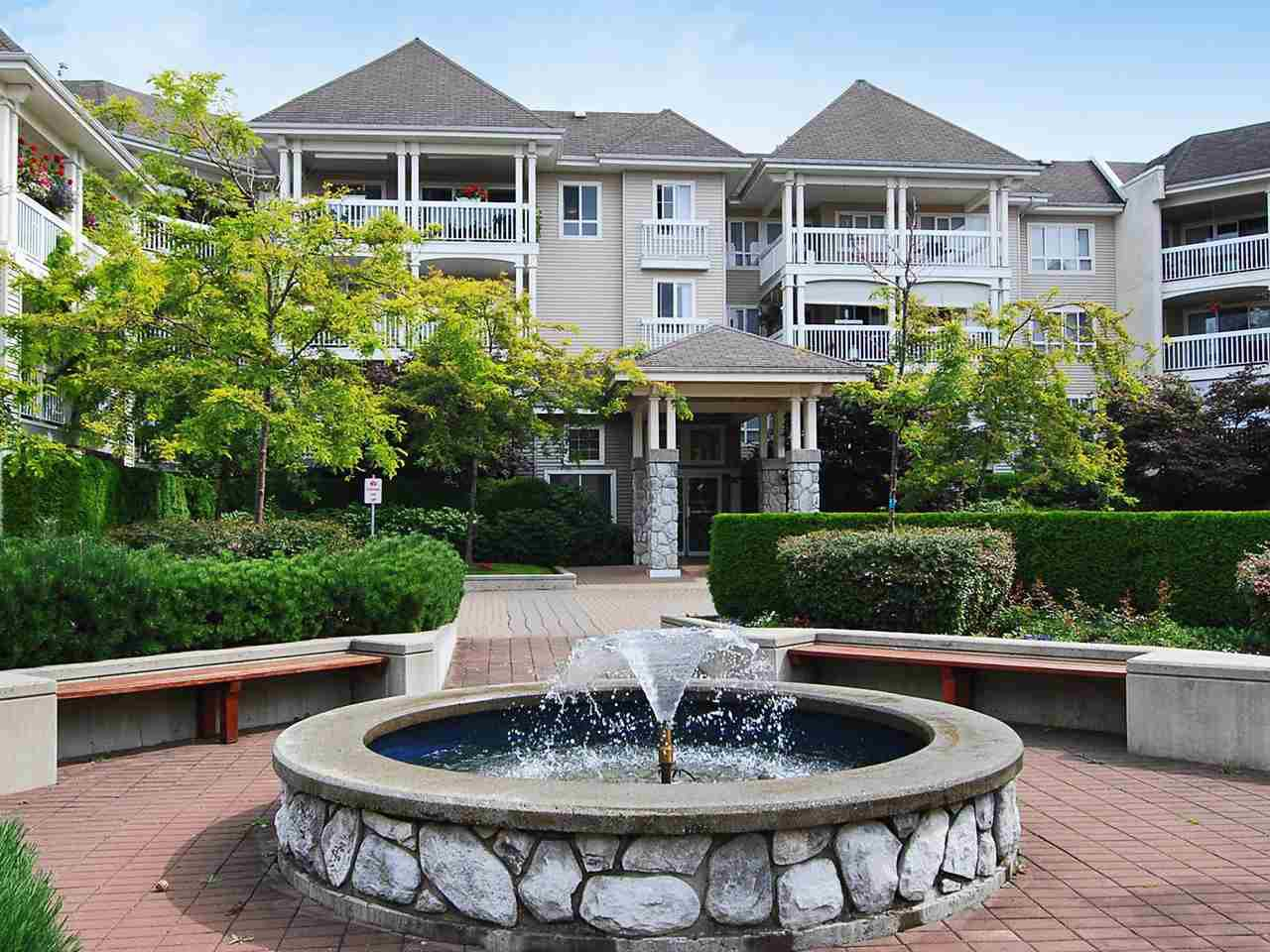 "Main Photo: 121 22022 49 Avenue in Langley: Murrayville Condo for sale in ""Murray Green"" : MLS®# R2332969"