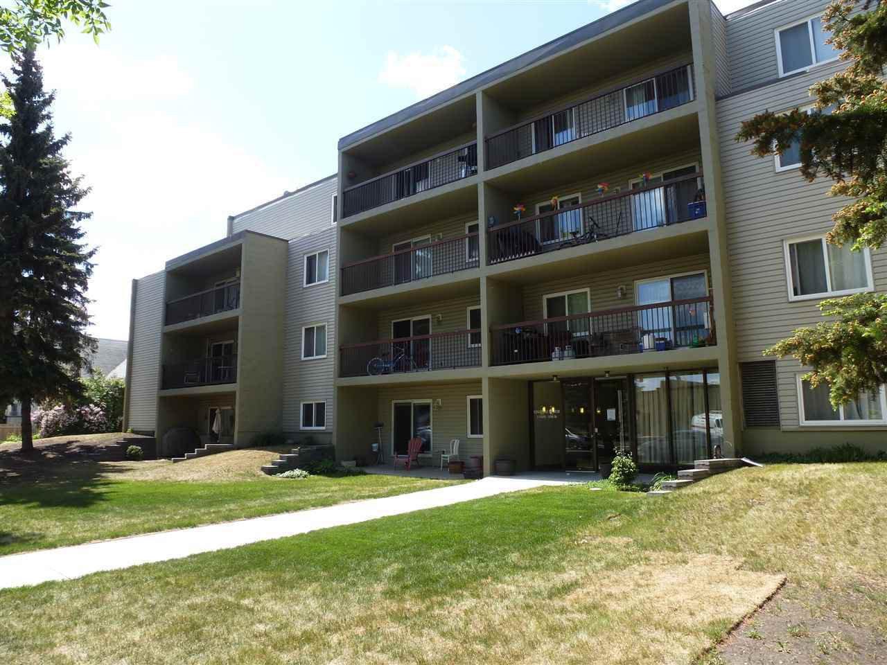 Main Photo: 307 11026 106 Street in Edmonton: Zone 08 Condo for sale : MLS®# E4145809