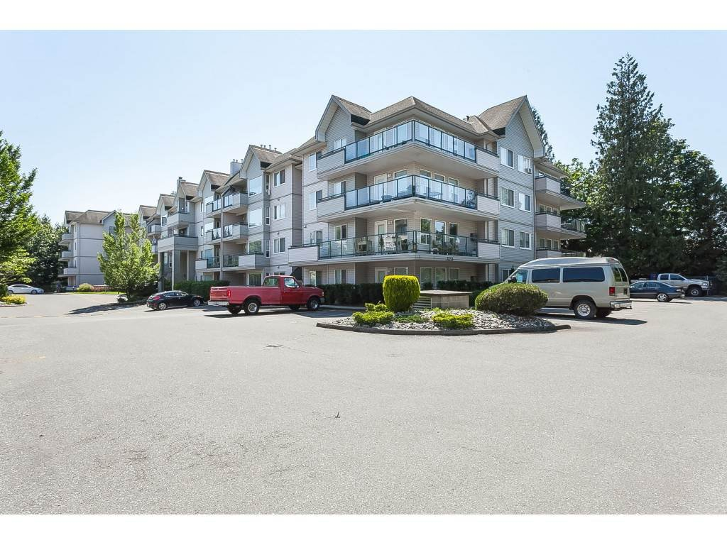 "Main Photo: 301 33708 KING Road in Abbotsford: Poplar Condo for sale in ""College Park Place"" : MLS®# R2374015"