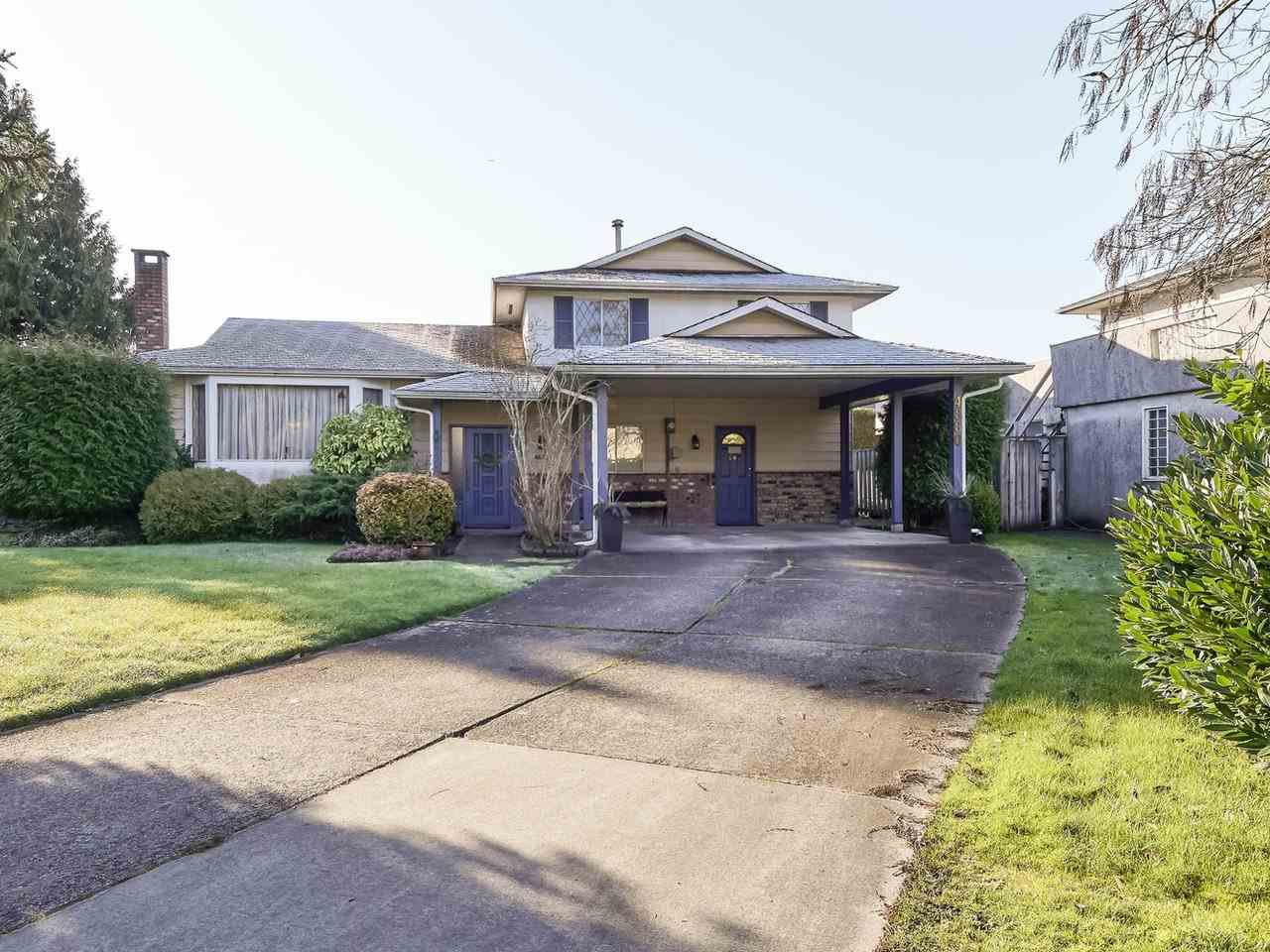 Main Photo: 4880 FORTUNE Avenue in Richmond: Steveston North House for sale : MLS®# R2435063
