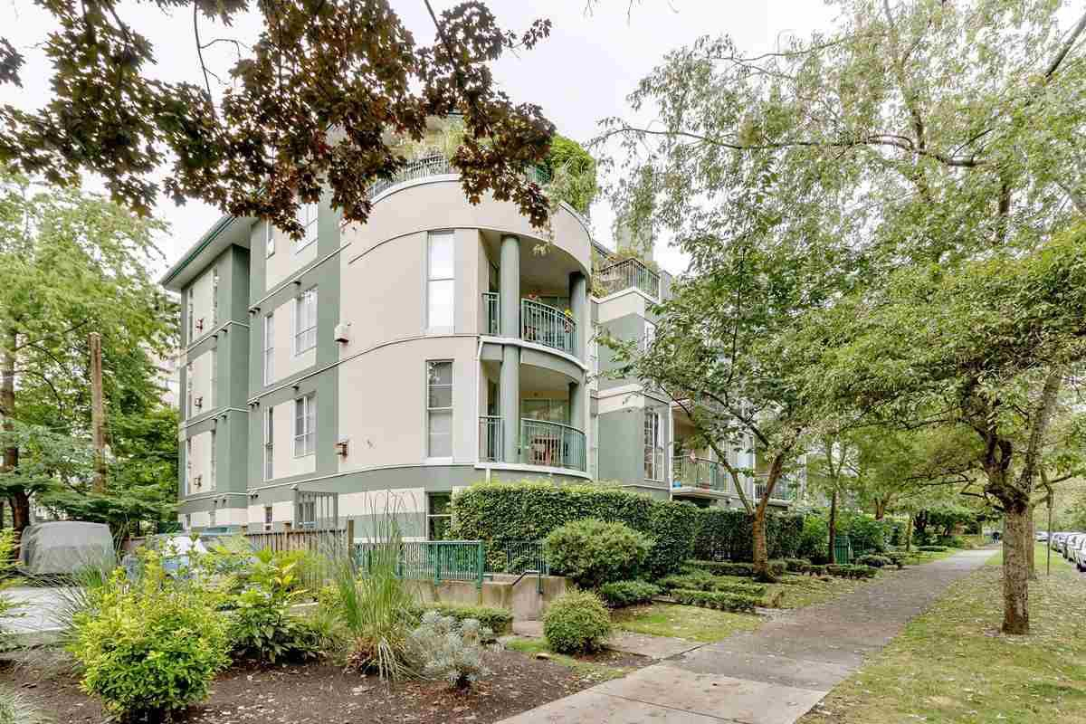 "Main Photo: 101 1928 NELSON Street in Vancouver: West End VW Condo for sale in ""WEST PARK HOUSE"" (Vancouver West)  : MLS®# R2484653"