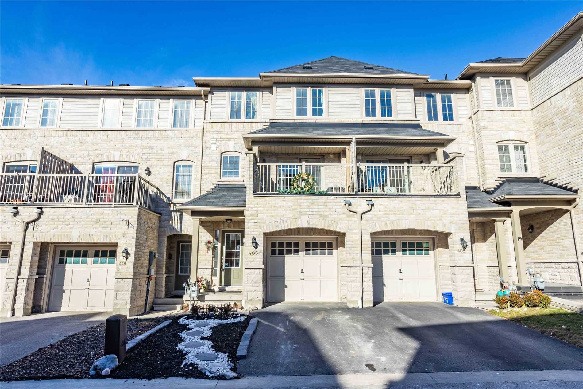 Main Photo: 403 Rossland Road in Ajax: Central East House (3-Storey) for sale : MLS®# E5061988