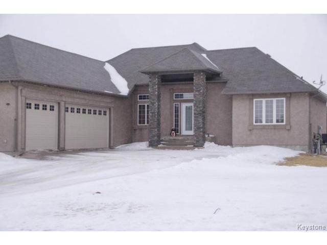 Main Photo: 45 TYLER Bay in OAKBANK: Anola / Dugald / Hazelridge / Oakbank / Vivian Residential for sale (Winnipeg area)  : MLS®# 1502001