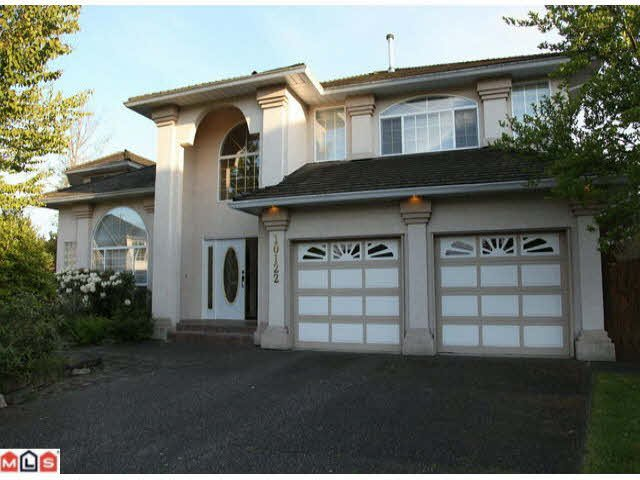 Main Photo: 10122 156A STREET in : Guildford House for sale : MLS®# F1012821